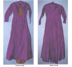 Margaret's mauvine dress 001